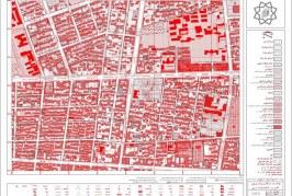 نقشه کد منطقه 11 تهران | نقشه های مصوب طرح تفصیلی