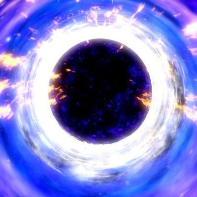 زمان در سیاهچاله