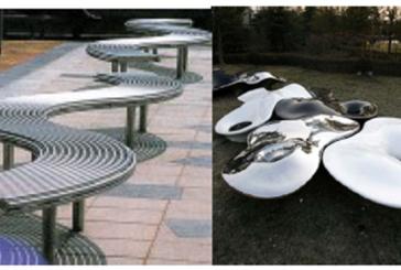 تاثیر طراحی نیمکت ها در فضاهای شهری بر میزان استفاده پذیری