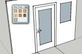 رسم ساده انواع درب در Sketchup با پلاگین Door Tools