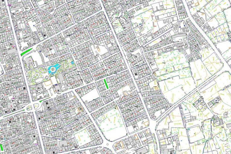 نقشه کد شهریار