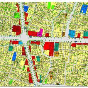 نقشه GIS اصفهان