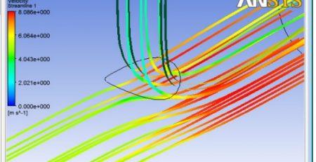 بررسی جریان سیال و انتقال حرارت