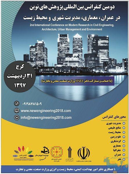 دومین کنفرانس بین المللی پژوهشهای نوین