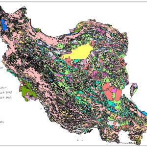 نقشه GIS ایران