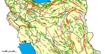 گسل های ایران