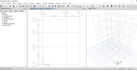 آموزش طراحی سازه های فولادی با Etabs 2015