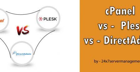 تفاوت کنترل پنل Cpanel و DirectAdmin و Plesk