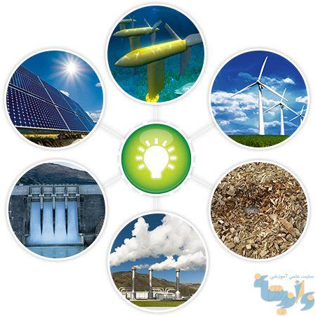بهره گیری از انرژی های تجدیدپذیر برای تولید انرژی الکتریکی