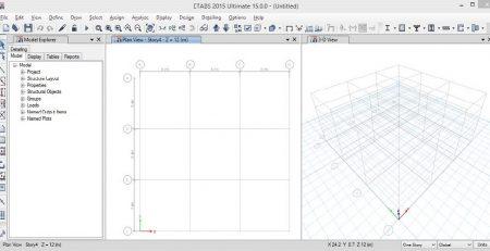آموزش طراحی سازه های بتنی با Etabs 2015
