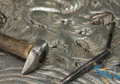 ابزار و وسایل و تجهیزات هنر و وسایل فلز