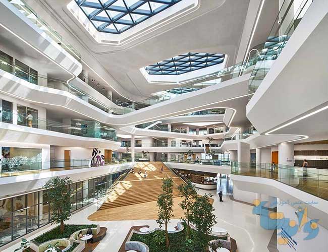 اصول طراحی ساختمان های اداری