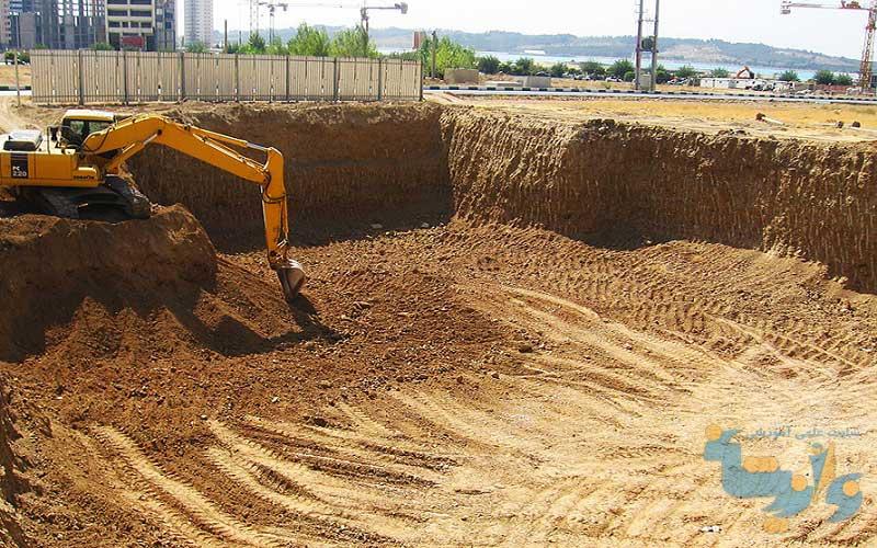 کتاب حفاری و خاکبرداری شهری