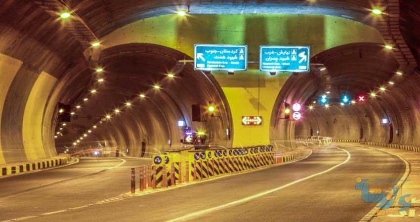 پروژه احداث تونل نیایش