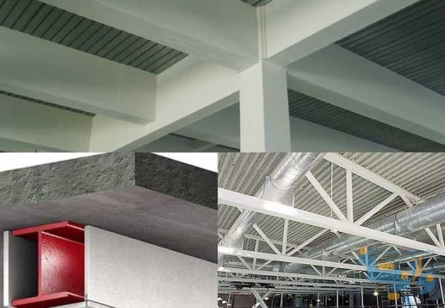 مقاوم سازی سازه های فولادی در برابر حریق
