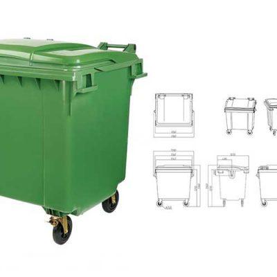 استاندارد مخازن متحرک پسماند و بازیافت