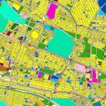 نقشه GIS طرح تفصیلی کرج
