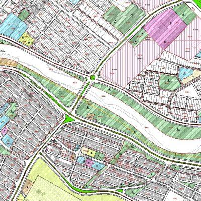 نقشه GIS منطقه ۹ شیراز