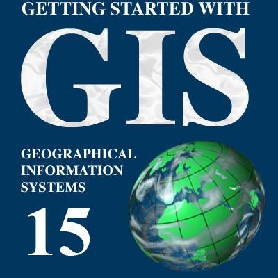 نقشه GIS منطقه ۱۵ تهران | جی آی اس منطقه پانزده