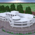 مطالعات طراحی مدرسه به همراه نقشه های معماری و رندر نهایی