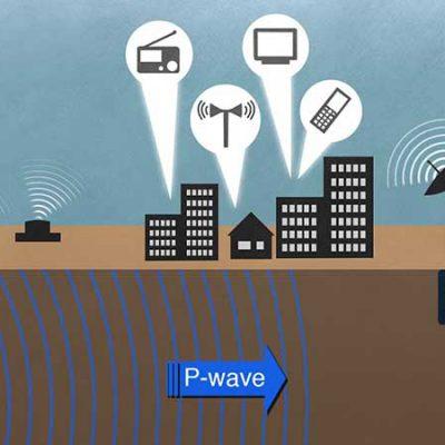 طراحی شبکه هشدار سریع زلزله