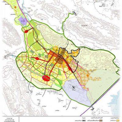 طرح تفصیلی شیراز